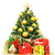 altın · Noel · hediyeler · şerit · iğneler - stok fotoğraf © kurhan
