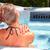 gyönyörű · nő · megnyugtató · pezsgőfürdő · fiatal · kezek · kéz - stock fotó © kurhan