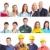 pracowników · ludzi · uśmiechnięty · biały · kobiet - zdjęcia stock © Kurhan