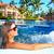 vacaciones · Resort · jacuzzi · piscina · imagen · lujo - foto stock © kurhan