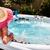美人 · リラックス · 温水浴槽 · 小さな · 水 · 健康 - ストックフォト © Kurhan