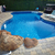 yüzme · havuzu · modern · avustralya · konak · gökyüzü - stok fotoğraf © kurhan