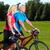 mutlu · bisikletçi · adam · spor - stok fotoğraf © Kurhan