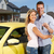 couple with a car key stock photo © kurhan