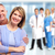 couple · de · personnes · âgées · permanent · hôpital · ensemble · médicaux · couple - photo stock © kurhan