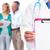 médico · prescripción · paciente · doctor · de · sexo · masculino · enfermos · hospital - foto stock © kurhan