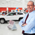 érett · autókereskedő · férfi · autó · kereskedés · bérlet - stock fotó © kurhan