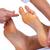 nő · láb · masszázs · wellness · fürdő · központ - stock fotó © kurhan