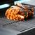 salmon fish roast on barbecue grill stock photo © kurhan