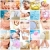 Spa massage collage background. stock photo © Kurhan