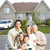 счастливая · семья · недвижимости · небе · здании · человека - Сток-фото © Kurhan