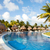 swimming pool at caribbean resort stock photo © kurhan