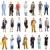 trabalhadores · negócio · pessoas · construtores · médicos · branco - foto stock © Kurhan