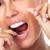 Frau · Lächeln · Zahn · schönen · zahnärztliche - stock foto © kurhan