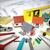 pequeno · casa · construção · ferramentas · escritório - foto stock © kurhan