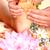 pé · massagem · mãe · raso · foco - foto stock © kurhan