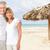 счастливым · тропический · пляж · Карибы · отпуск · курорта - Сток-фото © kurhan