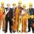 желтый · шлема · куча · проект · бизнеса - Сток-фото © kurhan