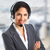 nő · ügyfélszolgálat · kezelő · beszél · ügyfél · technológia - stock fotó © Kurhan