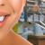 egészséges · fogak · beteg · fogorvosi · rendelő · fogászati · nő - stock fotó © kurhan