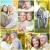 idoso · casal · amor · sorridente · feliz · verão - foto stock © Kurhan