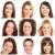 faces · smiles · sorridente · pessoas · saudável - foto stock © kurhan