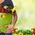 женщину · рук · продуктовых · сумку · овощей - Сток-фото © kurhan