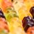 colorful fruity gummy bears background close up shot stock photo © kurkalukas
