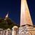 Blauw · moskee · minaret · nacht · stad · stedelijke - stockfoto © Kuzeytac