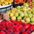 fresh organic fruits at a street market stock photo © kuzeytac