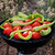 pomidorów · papryka · ryb · grillowanie · BBQ · świeże - zdjęcia stock © Kuzeytac