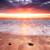 tramonto · strada · bella · cielo · nubi - foto d'archivio © kwest