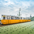 tram on liberty bridge in budapest hungary stock photo © kyolshin