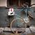 starych · retro · rower · ściany · drewna - zdjęcia stock © kyolshin