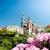城 · 教会 · ドーム · 表示 · 青 · 春 - ストックフォト © kyolshin