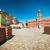 panorámakép · épület · helyszín · állvány · kék · ég · kilátás - stock fotó © kyolshin