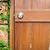 velho · porta · trancado · confuso - foto stock © kyolshin