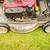 modern · gázolaj · fűnyíró · zöld · legelő · kertészkedés - stock fotó © kyolshin