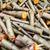 fa · háttér · száraz · aprított · tűzifa · egymásra · pakolva - stock fotó © kyolshin