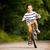ragazzo · equitazione · bicicletta · ritratto · parco - foto d'archivio © kzenon