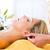 wellness   woman getting head massage in spa stock photo © kzenon