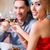 vrienden · dining · drinken · wijn · restaurant · recreatie - stockfoto © kzenon