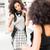 latina woman shopping fashion dress in store stock photo © kzenon