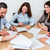 avocats · équipe · réunion · droit · entreprise · lecture - photo stock © kzenon