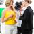 reporter and cameraman shoot an interview stock photo © kzenon