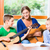 family making music with guitar stock photo © kzenon