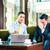 asian businessmen having meeting stock photo © kzenon