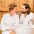 çift · sauna · güzel · rahatlatıcı - stok fotoğraf © kzenon