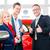 couple buying new car at auto dealership stock photo © kzenon