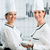 iki · profesyonel · şefler · pişirme · mutfak · şef - stok fotoğraf © kzenon